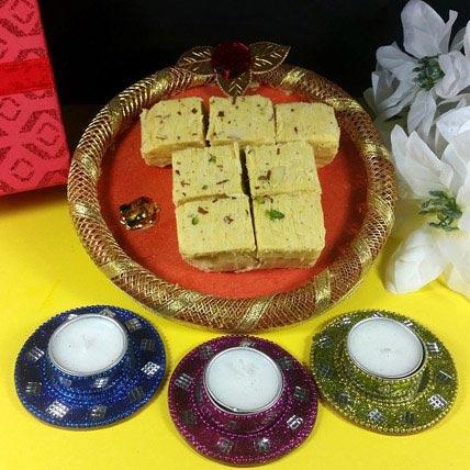 Diwali with Soan Papdi