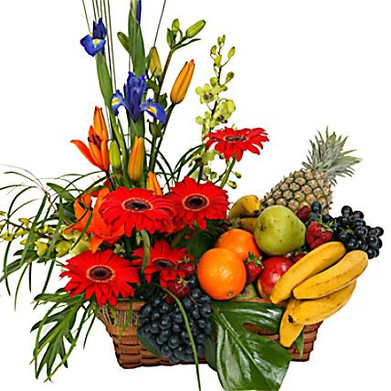 Special Fruit n Flower Basket