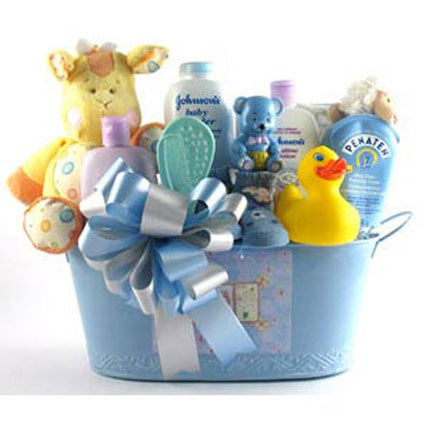 Boy Oh Boy Gift Basket