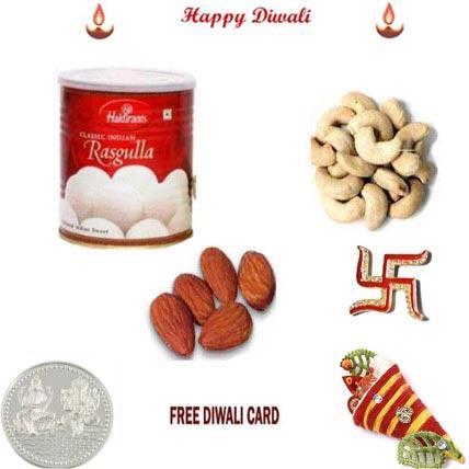 Rasgulla Dryfruit Diwali Pack