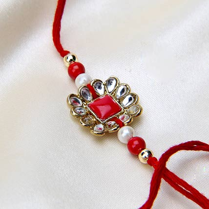 Red Radiant Rakhi