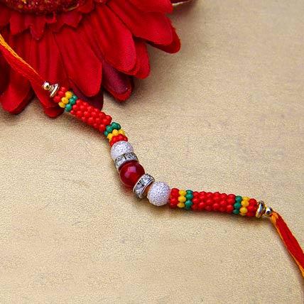 Simple Stringed Rakhi