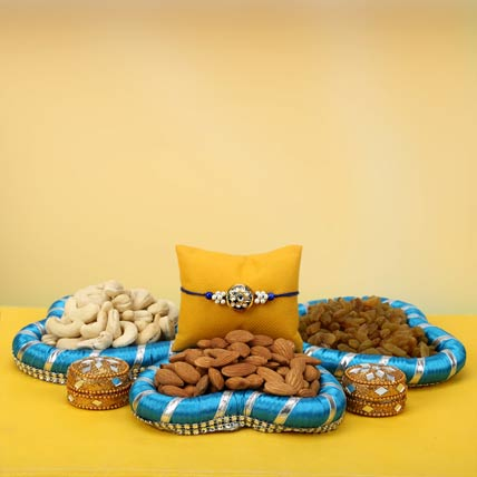 Super Nutty Rakhi Hamper