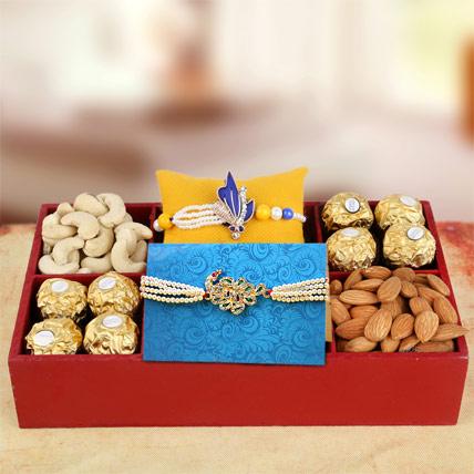 Sweet n Pure Rakhi Hamper