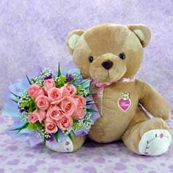 Bear n Flower   CIN