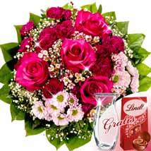 Flower Bouquet Pink Lady