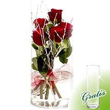 Flower Arrangement Rosenspiel: Thank You