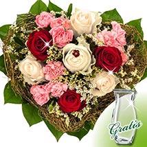 Flower Bouquet Herzlichkeit: Send Birthday Flowers to Germany
