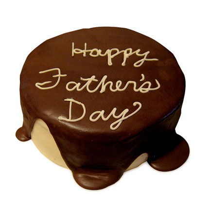 A Chocolaty Treat For Dad Half kg Eggless
