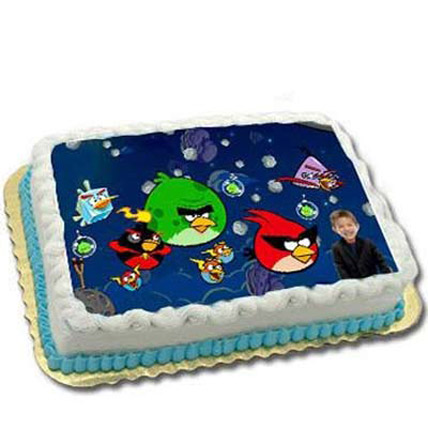 Adorable Angry Birds with personlised face 2kg