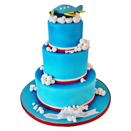 Airplane Cascade Cake 6kg