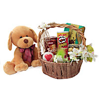 Amazing Hamper With Cute Soft Toy