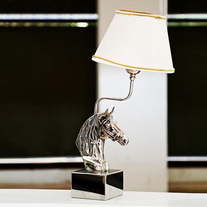 Antique Horse Lamp
