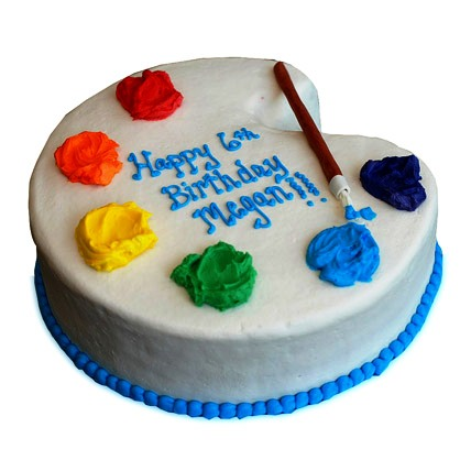 Artist Birthday Cake 4kg