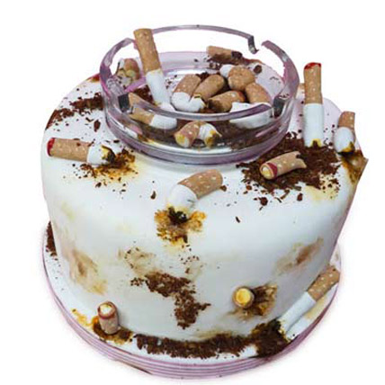 Ashtray Cake 4kg Eggless