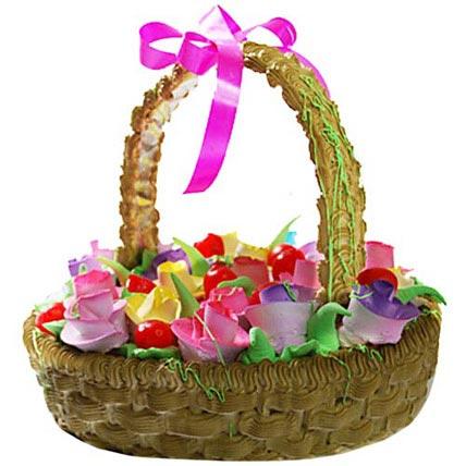 Basket Of Love Cake 4kg