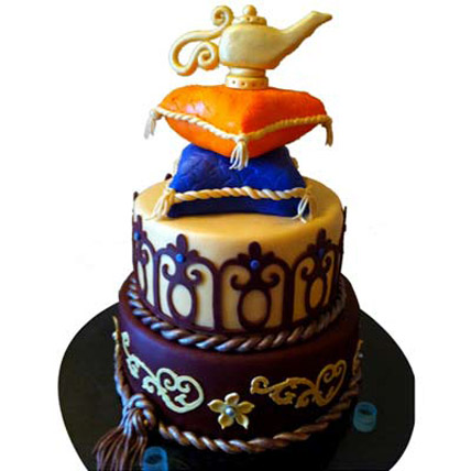 Beautiful Magic Lamp Layered Cake 4kg