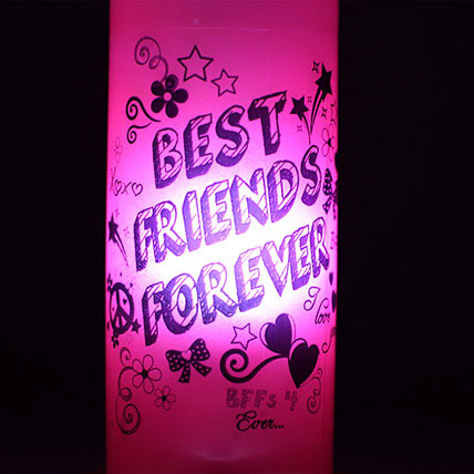 Best Friends Forever Lamp