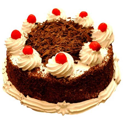 Black Forest Delight 2kg Eggless