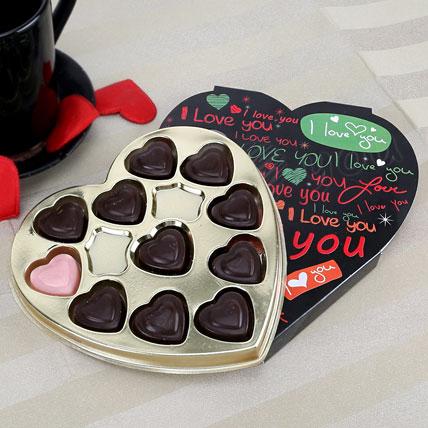 Black Heart Chocolate