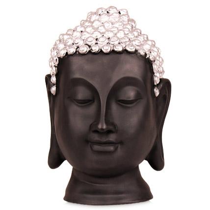 Black Thai Buddha Head