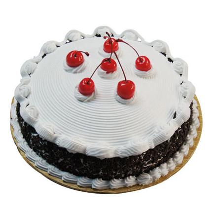 Blackforest Paradise Cake Half kg Eggless