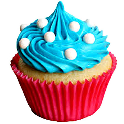 Blue Coffee Cupcakes 12