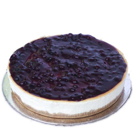 Blueberry Cheesecake 1kg Eggless