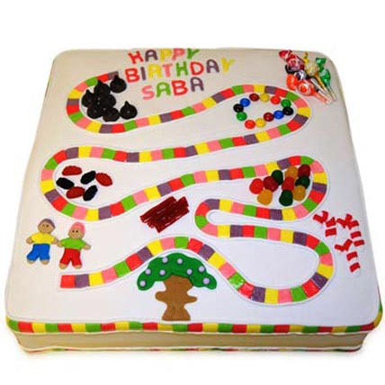 Board Game Spongy Cake 4kg Eggless