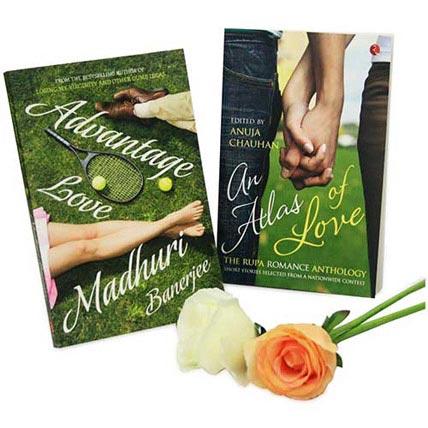 Book Hamper With Roses