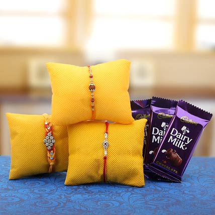 Bright And Traditional Rakhi