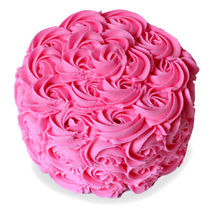 Brimming With Roses Cake 4kg Eggless