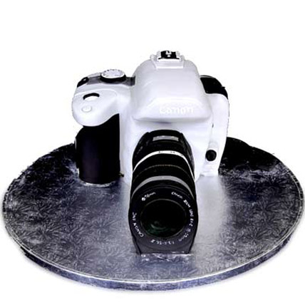Canon Flashy Camera Cake 3kg Eggless