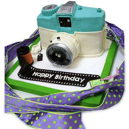 Catchy Camera Cake 3kg Eggless