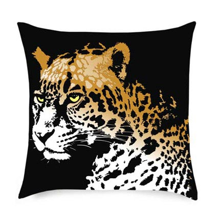Cheetah in the House Cushion