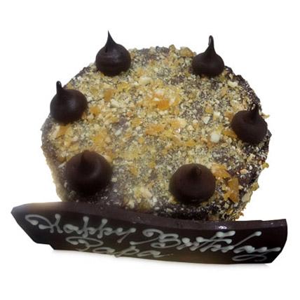 Choco Crunch Cake 2kg Eggless