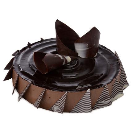 Chocolate Cheese Cake 1kg Eggless