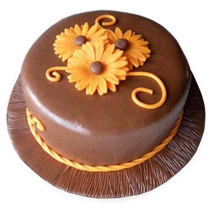 Chocolate Orange Cake Half kg Eggless