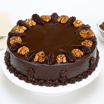 Chocolate Walnut Cake Half kg