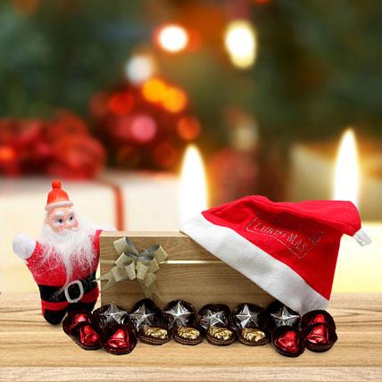 Chocolates and Santa
