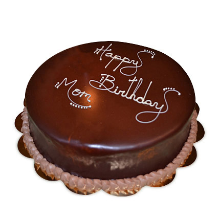 Chocolaty Birthday Cake 1kg Eggless