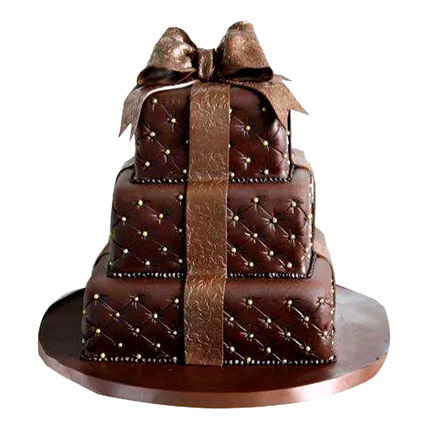 Chocolaty Wedding Cake 10kg Eggless