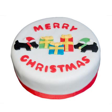 Christmas Celebrations Cake 2kg