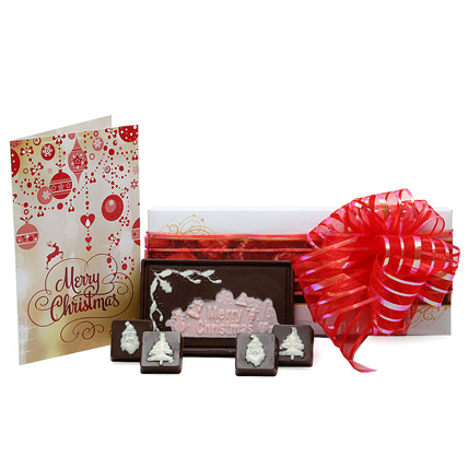 Christmas Chocolates and Card