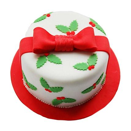 Christmas Gift Cake 2kg Eggless