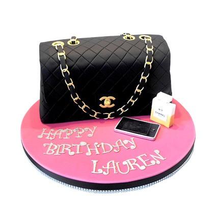 Classy Chanel Cake 3kg