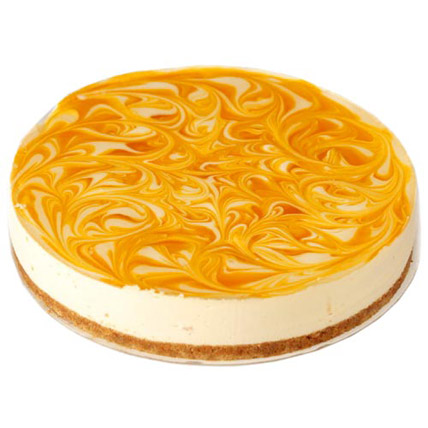 Cold Cheese Mango Cake Half kg Eggless