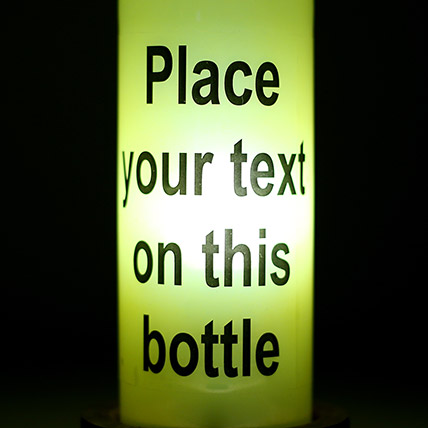 Contemporary Personalized Lamp