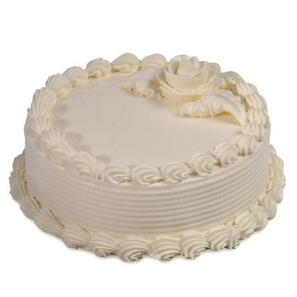 Creamy Pineapple Cake 2kg Eggless
