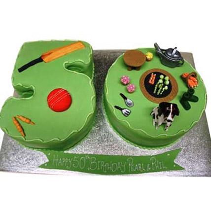 Cricket Gardening Cake 4kg
